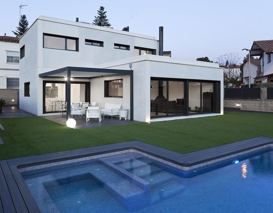 Modelos ht de viviendas modulares prefabricadas de hormig n hormitech - Casas prefabricadas valladolid ...
