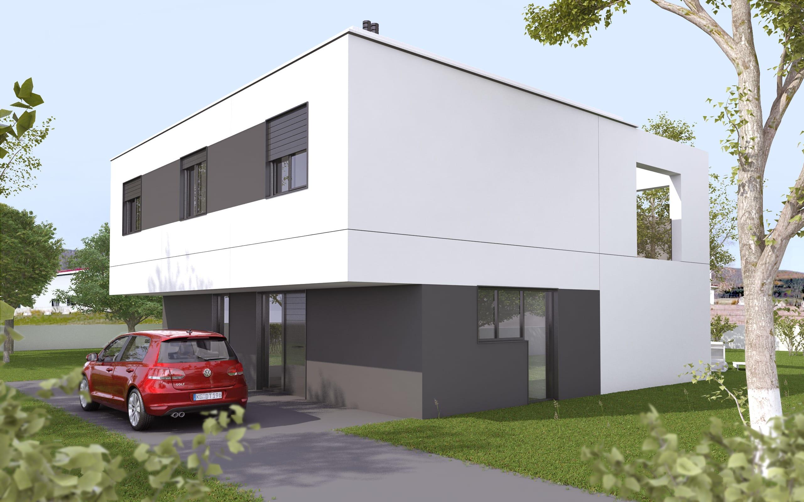 Modelo ht2 vivienda prefabricada en hormig n hormitech - Vivienda modular hormigon ...