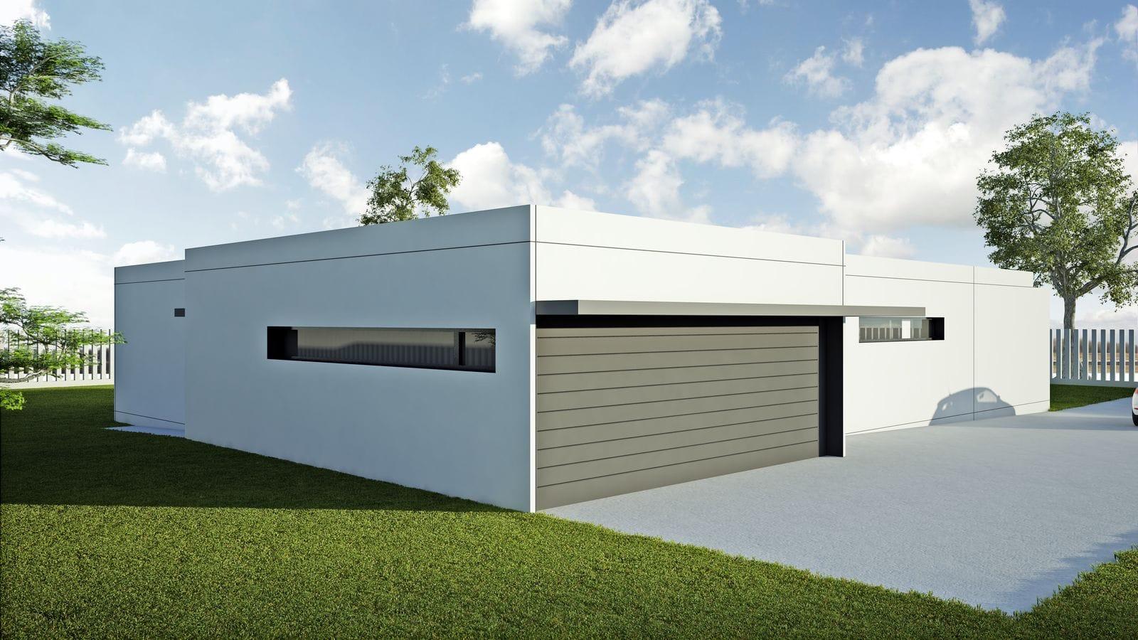 Modelo ht4 vivienda prefabricada en hormig n hormitech - Vivienda prefabricada hormigon ...