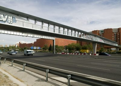PASARELA M30 O'DONELL (MADRID)